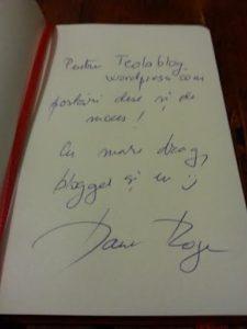 autograf dana rogoz