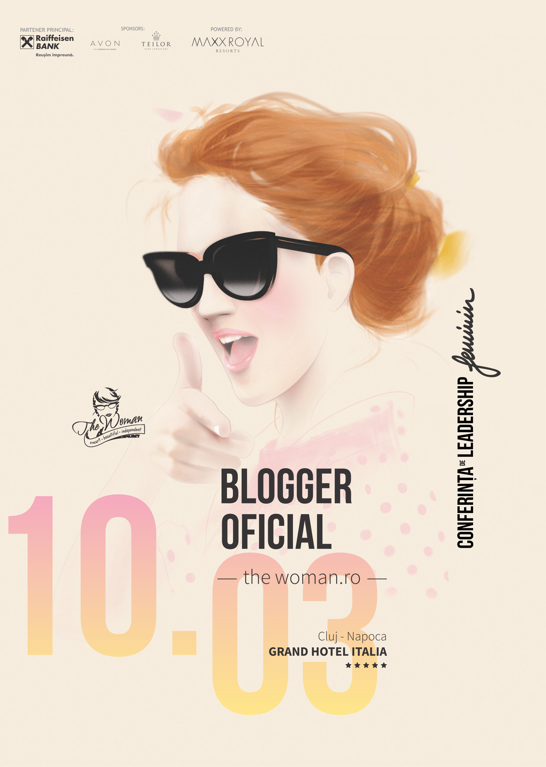 Blogger oficial The Woman 2016